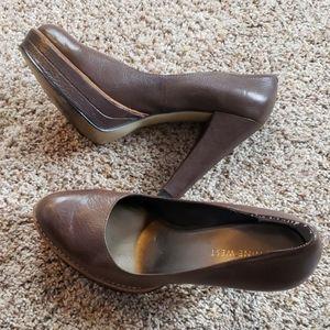 Nine West platform heel
